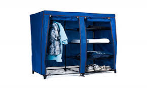 Honey Can Do 60 Double Door Storage Closet by Astounding Portable Storage Closet On Wheels Roselawnlutheran