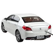 peugeot 2015 1 18 scale peugeot 508 2015 white diecast model car wholesale