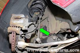 car front suspension bmw e46 stabilizer link replacement bmw 325i 2001 2005 bmw