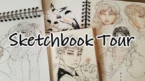 drawings sketchbook tour jan may 2017 anime