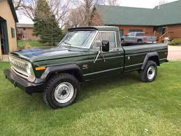 jeep truck 2016 daily turismo green and clean 1974 jeep j20