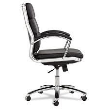 White Swivel Office Chair Amazon Com Alera Nr4219 Alera Neratoli Series Mid Back Swivel