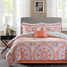 Coral And Gold Bedding Comforters Comforter Sets Bedspreads U0026 Bedding Sets Hsn