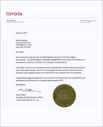 toyota dealer awards toyota of iowa city