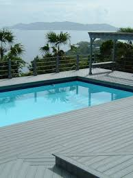 environmentally friendly pool decking