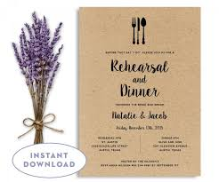 wedding rehearsal dinner invitations rehearsal dinner invitation template wedding rehearsal editable