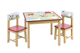 childrens table chair sets 57 kids table set kidkraft 26912 kids star activity wood table amp