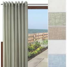 Grommet Drapes Patio Door One Way Draw Patio Curtain Thermal Patio Door Curtain