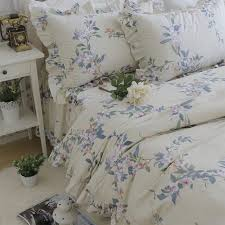 Ruffle Bed Set Romantic Ruffle Bedding Set Girl Twin Full Queen King Floral