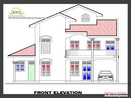 home plan elevation isometric views small house plans kerala home plan elevation isometric views small house plans kerala design idea
