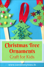 Paper Christmas Tree Crafts For Kids Busy Hands Christmas Tree Ornaments Craft Sticks Christmas Tree