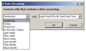 format date in excel 2007 conditionally formatting dates in excel how to format dates in