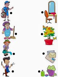jobs and occupations worksheet1 kindergarten pinterest