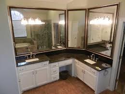 custom mirrors for bathrooms pleasant custom bathroom mirrors charming ideas toronto made for