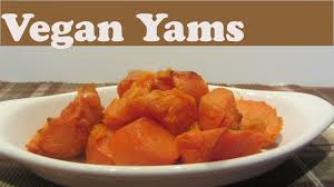 thanksgiving yams with marshmallows recipe vegan baked yams recipe for thanksgiving and hearty meals youtube
