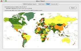 ip address map who s there user s guide who s there dialog