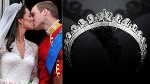 kate middleton wedding tiara kate middleton s wedding tiara heads up dazzling canberra