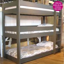 Tri Bunk Beds Uk Bunk Bed Single Contemporary Wooden Lobby Alto Clever