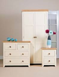 Cream Bedroom Furniture Sets by Premium Corona White Bedroom Furniture Set Drawers Trunk Bedside