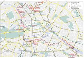Nyc Subway Map With Street Overlay by Map Of Berlin Wall Location