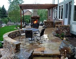 Inground Pool Patio Designs Patio Ideas Outdoor Patio Designs With Fire Pit Patio Designs