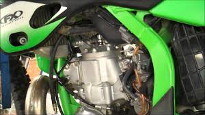 kx250 compression test 2 stroke youtube