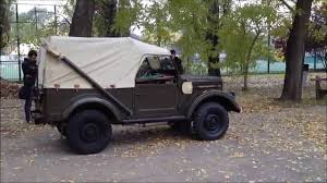 1080p Gaz 69 Military Jeep Inside U0026 Outside With Engine Start