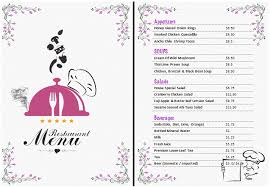 free office templates word 33 free menu templates word doc 464600 microsoft word restaurant