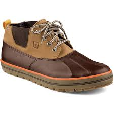 s boots waterproof sperry s fowl weather chukka boots mens boots