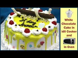 white chocolate birthday cake व इट च कल ट बर थड