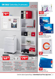 Aldi Filing Cabinet Aldi Catalogue January General Products Page 9