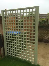 privacy fencing contemporary panels square and diamond trellis