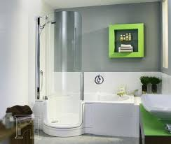 tub shower combo bathroom contemporary with bathroom alcove modern