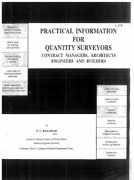 100 civil quantity survey manual construction computer