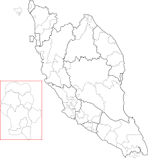 Blank Maps Of Asia by Clipart Blank Map Of Peninsular Malaysia