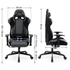 support lombaire bureau chaise gamer fauteuil de bureau racing sport avec support lombaire