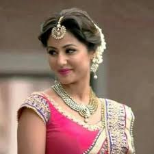 akshara wedding hairstyle hina khan aka akshara hairstyles google search hair styles