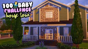 100 baby challenge house tour 2 house contest winner youtube