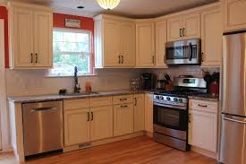 Standard Kitchen Design by Furniture Oak Wood Costco Cabinets With White Countertop Island