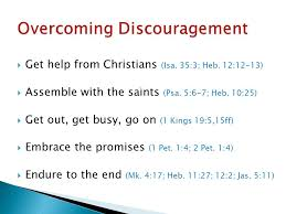 dealing with discouragement the best of all christians will