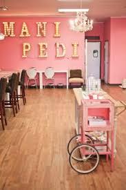 Cool Nail Polish And Nail Salon Decor From Etsy Amazing Salons - Nail salon interior design ideas