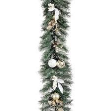 Pre Decorated Christmas Garland Decorated Garland Wayfair