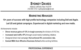 Resume With Bullet Points Is It A Good Idea To Remove Certain Work Experience From Your