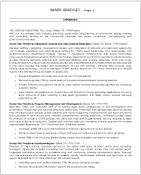 sample cio resume cio resume sample cio resume giga cv helps