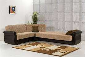 Chenille Sectional Sofas by Brown Chenille Modern Sectional Sofa W Optional Chair