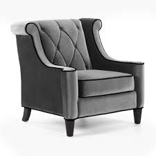 Living Room Upholstered Chairs Barrister Upholstered Chair Gray Chairs