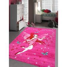 tapis chambre fille tapis fee tapis enfants 160 x 230 cm achat vente tapis