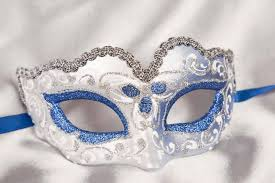 carnival masks baby fiore silver small carnival masks ebay
