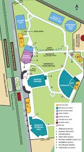 Map Of Downtown Chicago Il by Ravinia Festival Official Site Park Map