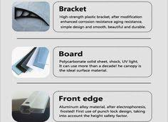 Polycarbonate Window Awnings Newest Design Awning Bracket Polycarbonate Window Awning For Sale